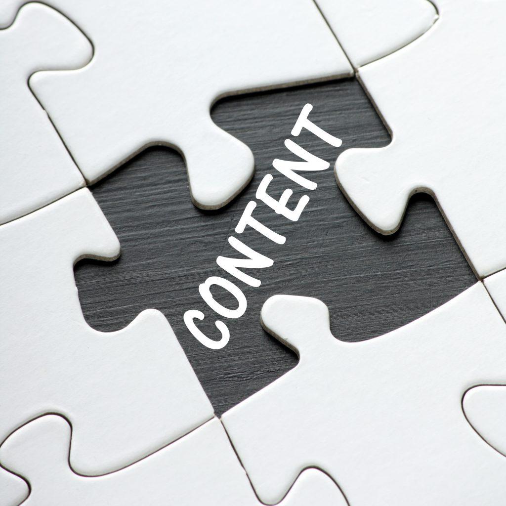 Content puzzle peice