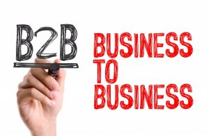 Business to business illistration