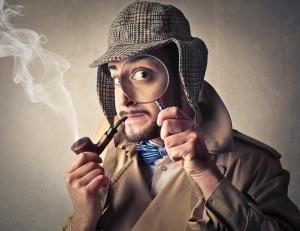 sherlock holmes appearance investigator